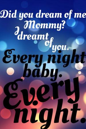 Kill Bill, mother & child quote. Beatrix Kiddo & B.B.