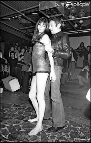 Jane Birkin et Charlotte Gainsbourg en 1972.