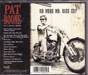 PAT BOONE / IN A METAL MOOD - NO MORE MR. NICE GUY(1997)