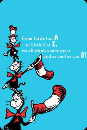 View bigger - Dr. Seuss Senders - 100 fantabulous cheer-ups and quotes ...