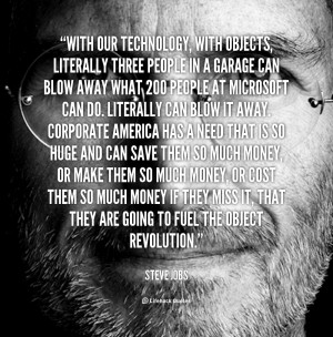 Steve Jobs Quotes About Technology