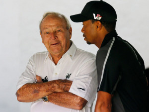 Palmer and Woods: Helps launch a new campaign