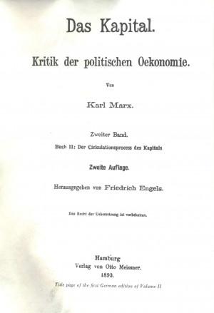Das Kapital Capital, volume ii