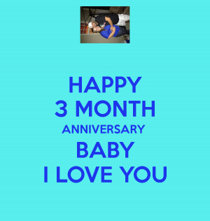 Happy 3 Months Anniversary Quotes