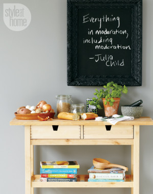 Kitchen chalkboard quotes quotesgram for Chalkboard ideas in kitchen