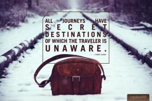 Travel Quote: Martin Buber on Travel's Secret Destinations