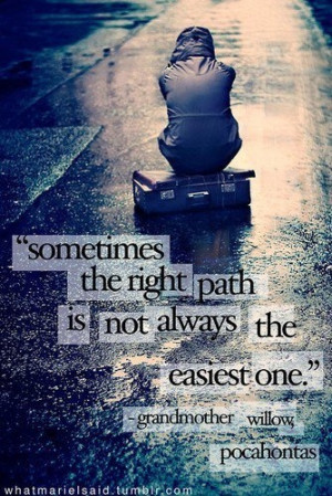 choose the right path