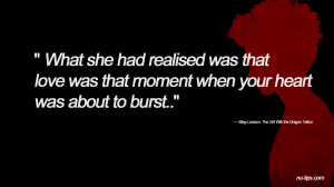 Quotes Funny The Girl With Dragon Tattoo Rooney Mara Wallpaper with ...