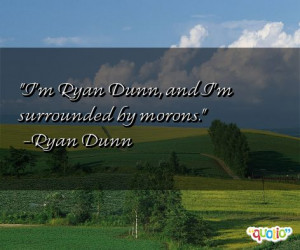 Quotes about Morons