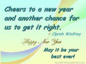 More Happy New Year's Wishes, Sayings, and Quotes