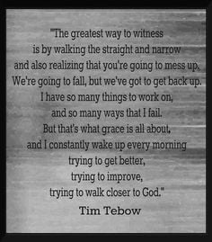 Quote by Tebow More