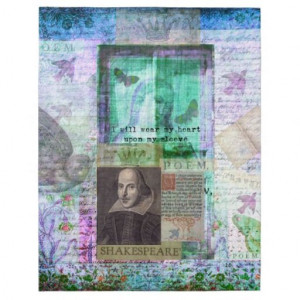 Shakespeare whimsical LOVE quote Puzzle