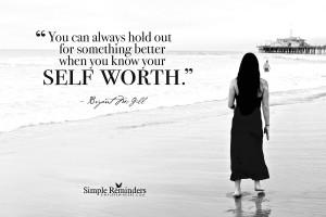 know your self worth know your self worth