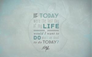 Steve Jobs Quote Wallpaper by CherokeeLove