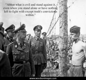 Heinrich himmler quotes