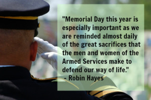 ... soldiers do for our country, and thus they should be remembered and