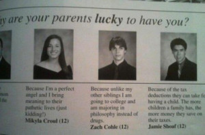 The 55 Funniest Yearbook Photos & Quotes Ever