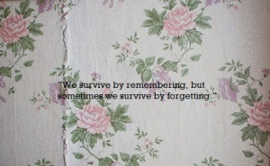 emily browning, floral, flowers, memories, quote, sad, text, the ...