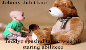 Teddy Bear Quotes Funny