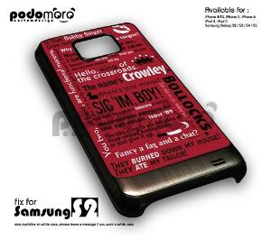 BD 273 Supernatural Crowley Quotes - samsung s2 by Jessie mila