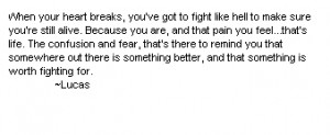 Lucas Quote - one-tree-hill-quotes Photo