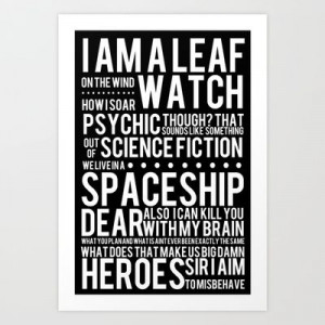 My newest baby: Firefly Subway Poster, iphone case, pillow and ...