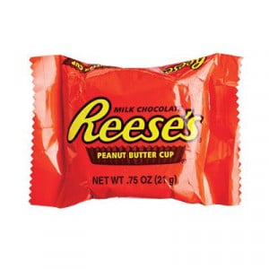 Halloween candy - Reese's Peanut Butter Cup