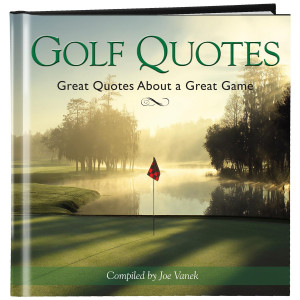 Golf Quotes Book (781125)