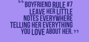 Boyfriend Rule #8 – Protect Her