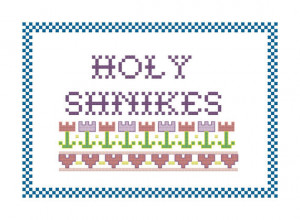 Tommy Boy Quote Cross Stitch Pattern