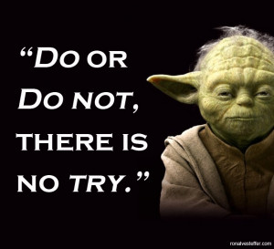 """As Yoda Says, """"May The Force Be With You"""""""