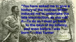 nat turner black history