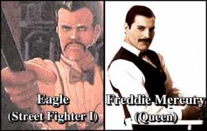 Eagle and the bodyguard/Freddie Mercury