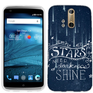 This beautiful quote phone cover for the ZTE Axon PRO features the ...
