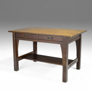 Gustav Stickley Library Table
