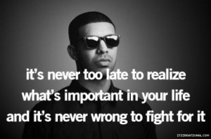 Inspirational Quotes From The Top Musicians #2 – Drake