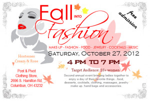 Home » Fall into Fashion Flyer
