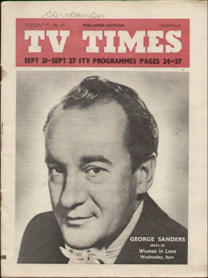 Thread: George Sanders