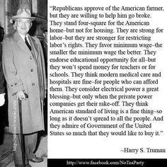 harry truman the buck stops here republican truth em hell harri truman ...