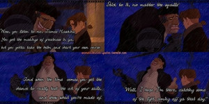 Treasure Planet quote. Probably my favorite quote of the whole movie