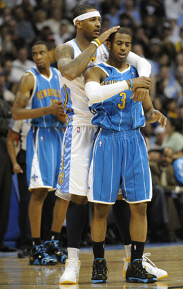 How Chris Paul's situation affects Denver Nuggets' Carmelo Anthony