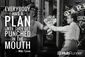 Mike Tyson Quotes Everyone Has A Plan everybody has a plan