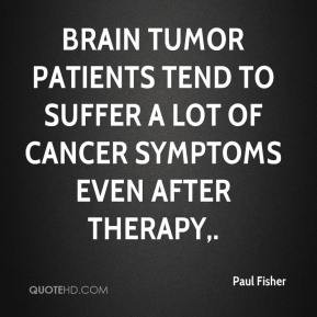 Brain Cancer Quotes