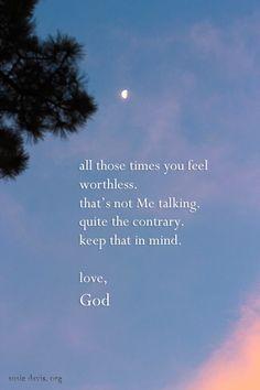 Feeling Worthless