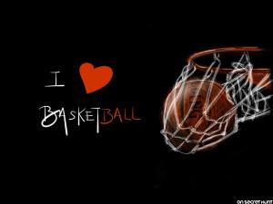 Love Basketball Wallpaper 540x405 I Love Basketball Wallpaper