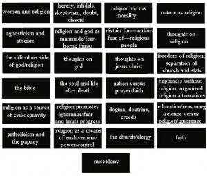 Quotes: Religion, God, Atheism, Agnosticism, Paganism