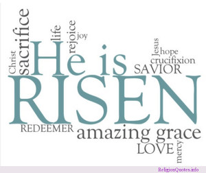 Quote image for Christian during the Easter season.