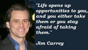 Multumesc Jim Carrey ca accepti orice fel de provocare si ca totul ...