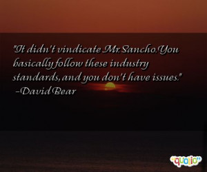 Sancho Quotes