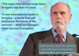 Vint Cerf on ITU control